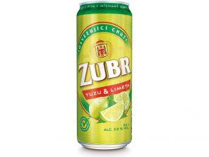 Zubr Yuzu & limeta, plech 0,5l