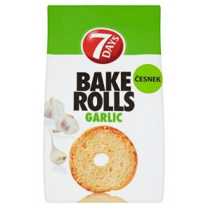 7Days Bake Rolls Česnek, 80g
