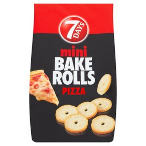 7Days Bake Rolls Mini Pizza, 80g