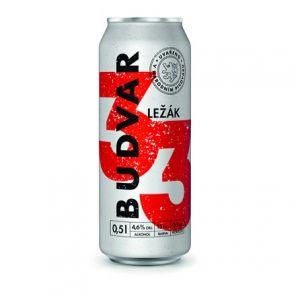 Budweiser Budvar 33 11°, plech 0,33l