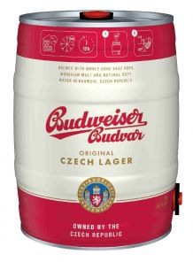 Budweiser Budvar B:Original 12°, soudek 5l