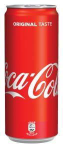 Coca Cola, plech 0,33l