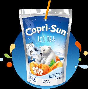 Capri-Sun Ice tea Peach, 0,2l