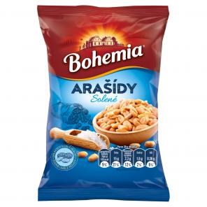 Bohemia Arašídy pražené solené, 100g