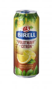 Birell Polotmavý Citrón, plech 0,5l
