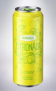 Citronáda od Birellu, plech 0,5l