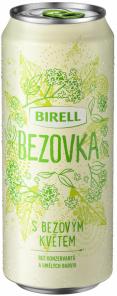 Bezovka od Birellu, plech 0,5l