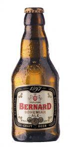 Bernard 16° Bohemian Ale, lahev 0,33l