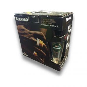 Bernard 12° + sklo, multipack 6x0,5l