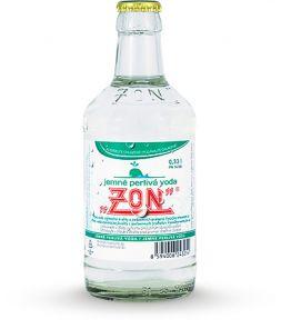 ZON Jemně perlivá voda, lahev 0,33l