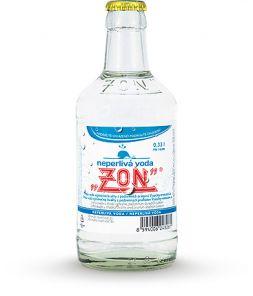 ZON Neperlivá voda, lahev 0,33l