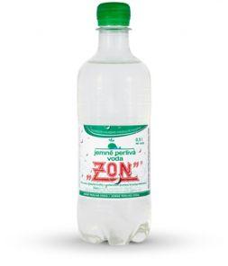 ZON Jemně perlivá voda, PET 0,5l