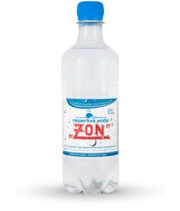 ZON Neperlivá voda, PET 0,5l