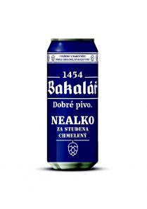Bakalář Nealko, plech 0,5l