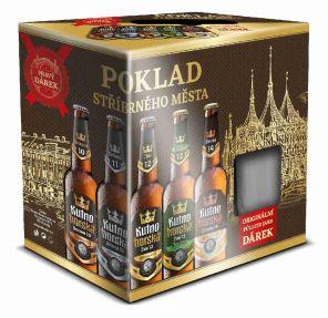 Kutná Hora Mix + sklo, multipack 6x0,5l