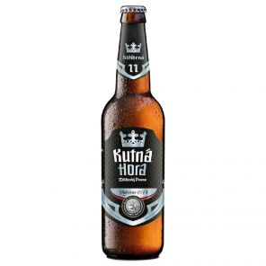Kutná Hora 11° Stříbrná, lahev 0,5l