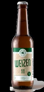 Kamenická 11° Weizen, lahev 0,5l