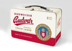Budweiser Budvar B:Original 12°, plech 8x0,5l