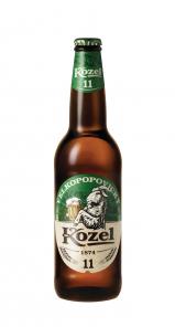 Velkopopovický Kozel 11, lahev 0,5l