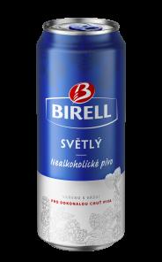 Birell Světlý, plech 0,5l