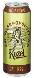 Velkopopovický Kozel Retro, plech 0,5l