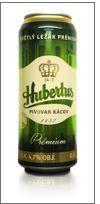 Hubertus 12° Premium, plech 0,5l